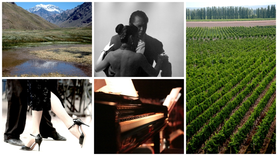 Argentina -food, wine, dance and music